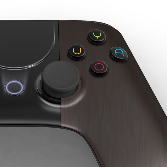 OUYA Controller brown brushed metal finish